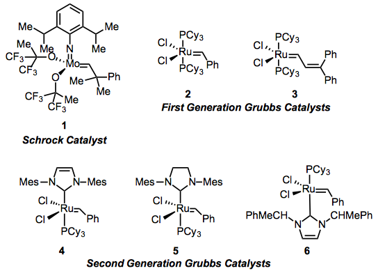 grubbs metathesis catalyst Quest for the ideal olefin metathesis catalyst, anna michrowska modifications of the hoveyda–grubbs catalyst were carried out with the aim.