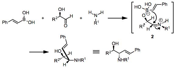Boronic acid Mannich reaction (Petasis reaction) - Organic Reactions