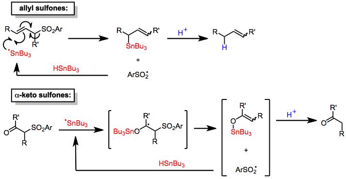 Desulfonylation Reactions Organic Reactions Wiki