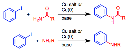 Copper-catalyzed amination - Organic Reactions Wiki